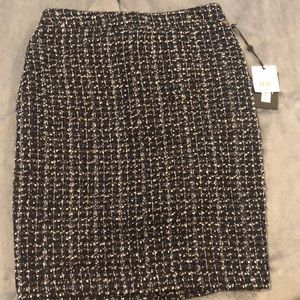 New DKNY Tweed Mini Skirt